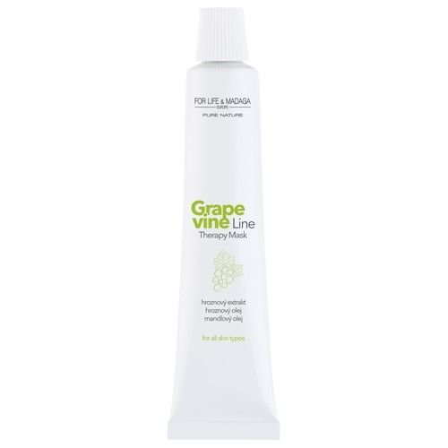 For Life & Madaga Grapevine Therapy pleťová maska 18 ml