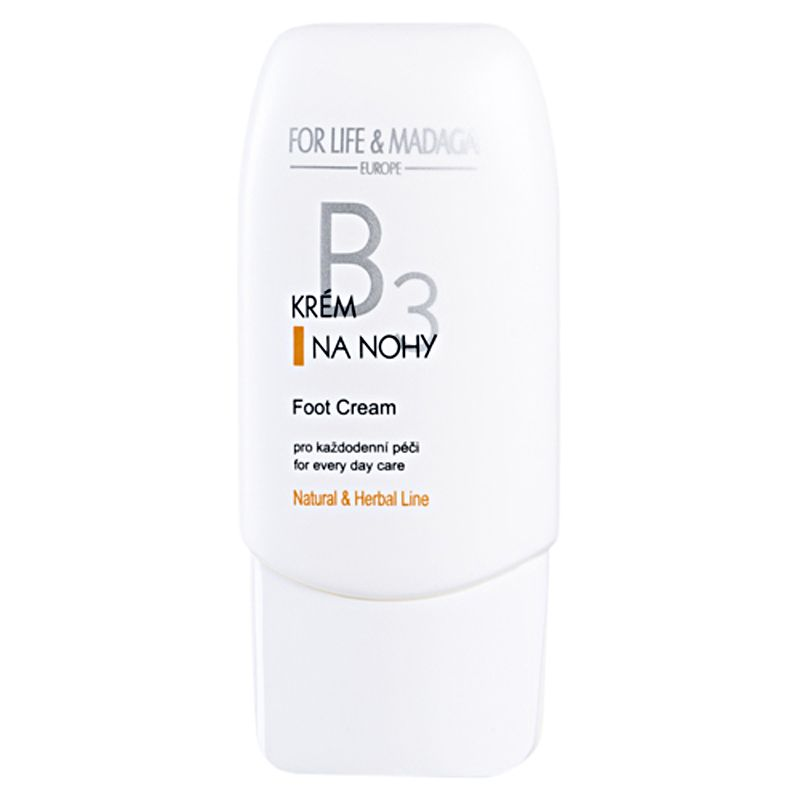 FOR LIFE & MADAGA krém na nohy 100 ml